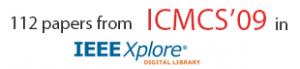 ICMCS'09 in IEEE Xplore